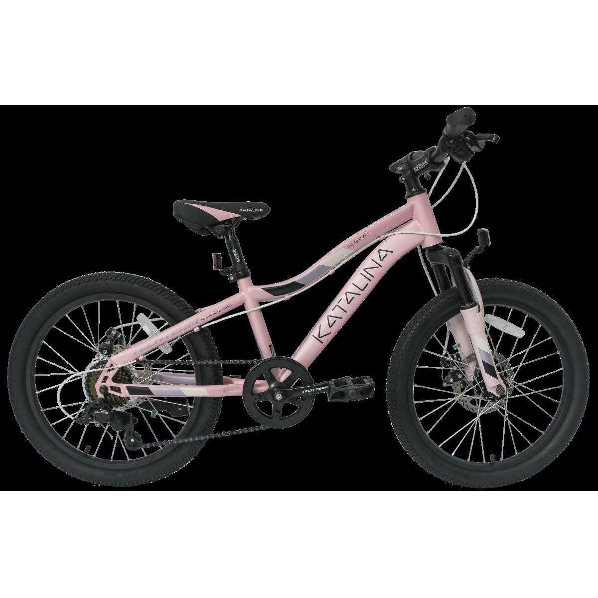 Подростковый велосипед TechTeam Katalina 20 розовый