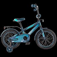 Детский велосипед TechTeam Рама 134 2019 черный