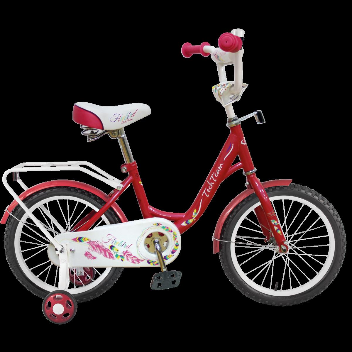 Детский велосипед TechTeam Рама 131 2019 красный