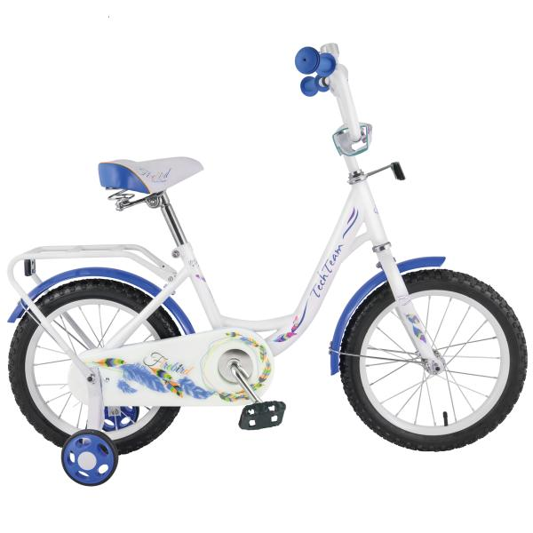 Детский велосипед TechTeam Рама 131 2019 белый