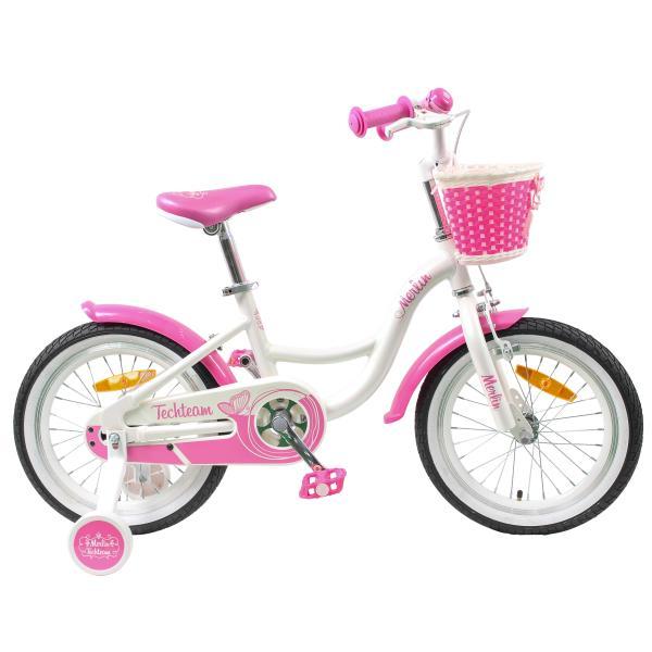 Детский велосипед TechTeam Merlin 2019 белый