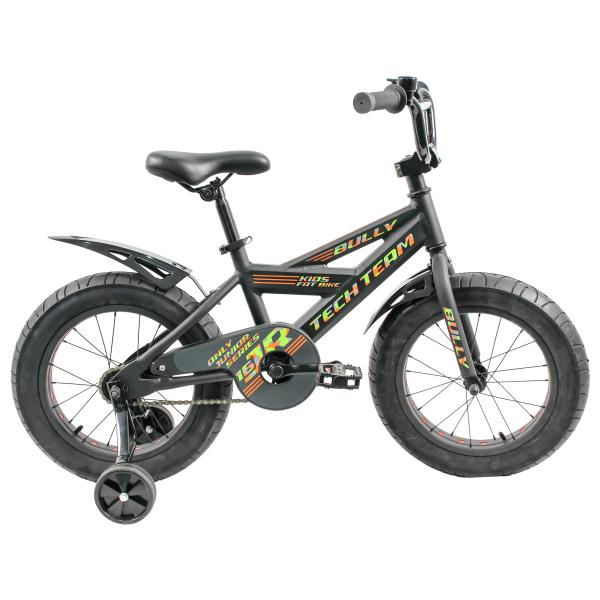 Детский велосипед TechTeam Bully 2019 черный