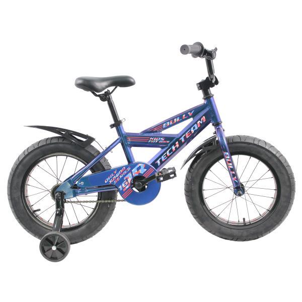 Детский велосипед TechTeam Bully 2019 синий