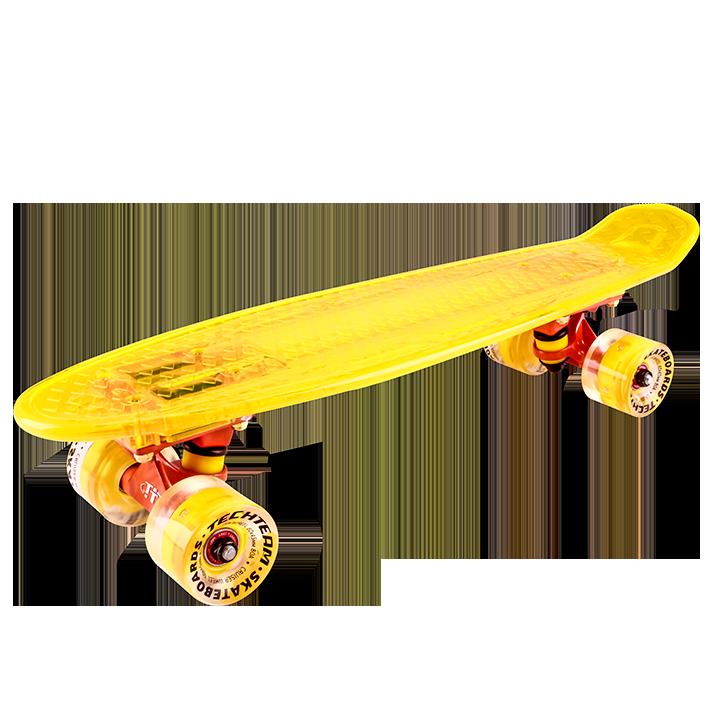 Скейтборд круизер TechTeam Transparent 22