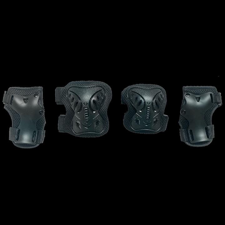 Комплект защиты для катания на роликах TechTeam черныйSafety Line 200