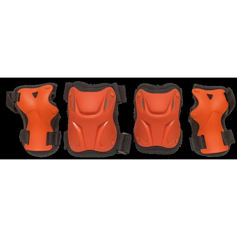 Комплект защиты для катания на роликах TechTeam Safety Line 800 оранжевый