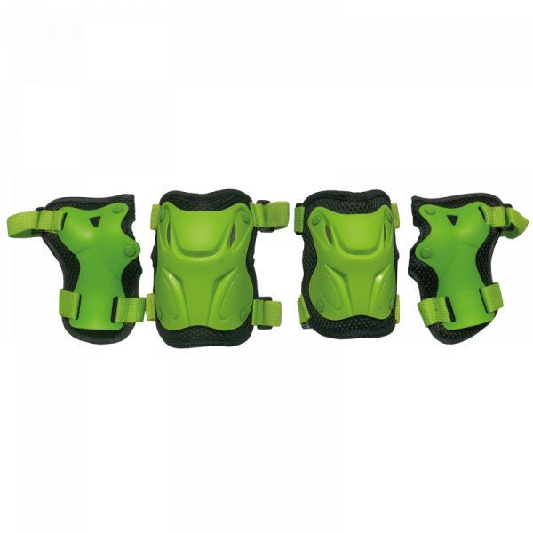 Комплект защиты для катания на роликах TechTeam Safety Line 800 зеленый