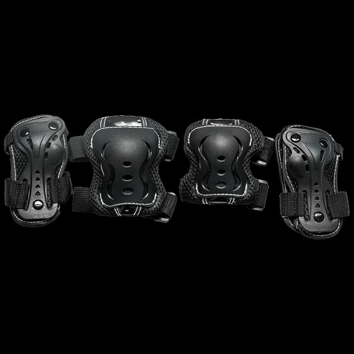 Комплект защиты для катания на роликах TechTeam Safety Line 700 черный