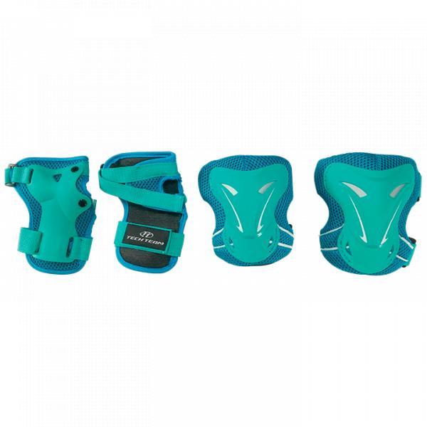Комплект защиты для катания на роликах TechTeam Safety Line 400 березовый