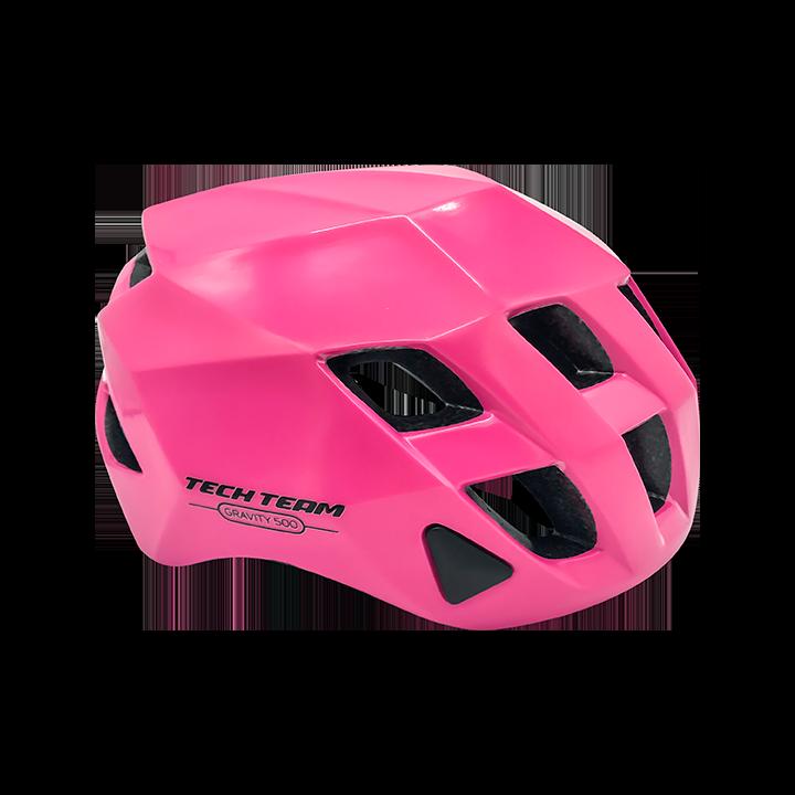 Шлем защитный TechTeam Gravity 500 розовый