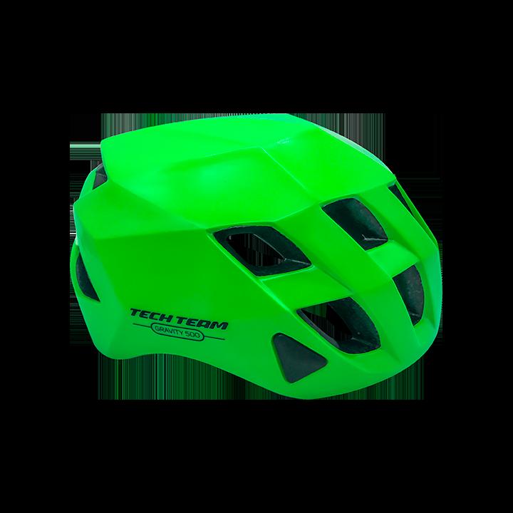 Шлем защитный TechTeam Gravity 500 зеленый