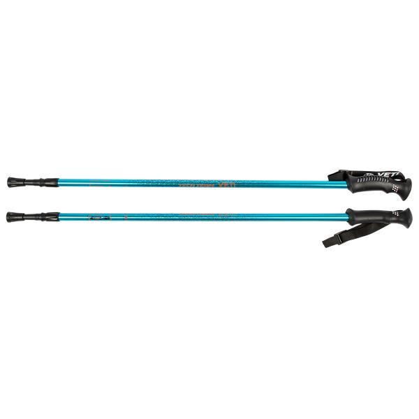 Треккинговые палки для скандинавской ходьбы TechTeam Yeti синие