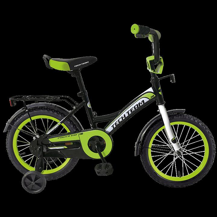 Детский велосипед TechTeam 135 зеленый