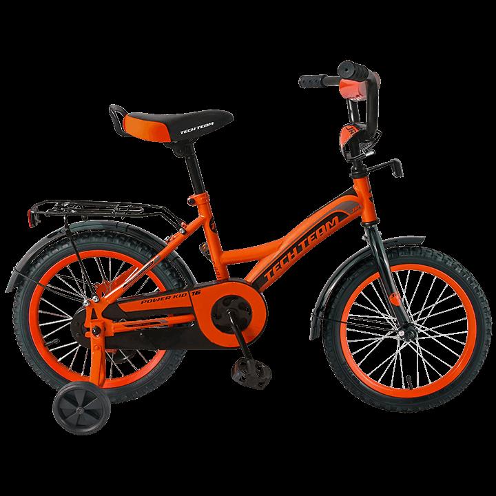 Детский велосипед TechTeam 135 оранжевый