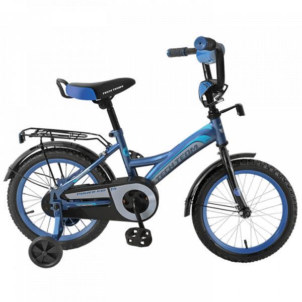 Детский велосипед TechTeam 135 синий