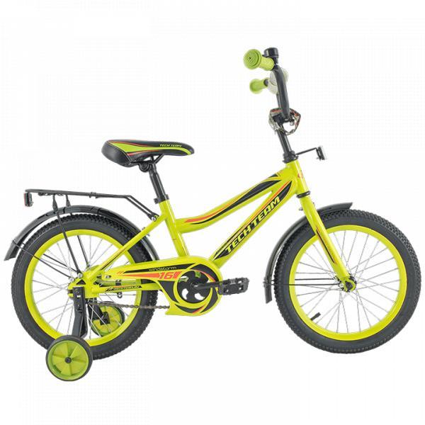 Детский велосипед TechTeam 136 желтый