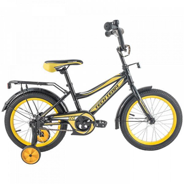 Детский велосипед TechTeam 136 черный