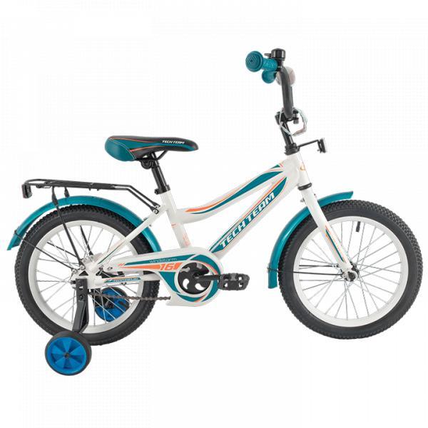 Детский велосипед TechTeam 136 белый