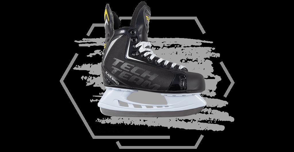 Хоккейные коньки Black Wings от Tech Team
